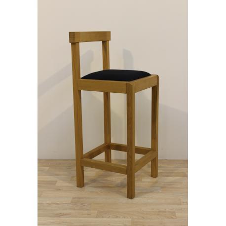 Krzesło barowe dębowe KORAL (hoker)