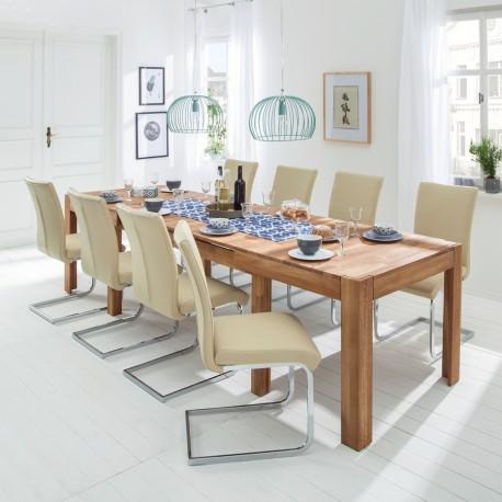 """Stół dębowy """"XL"""" aranżacja"""