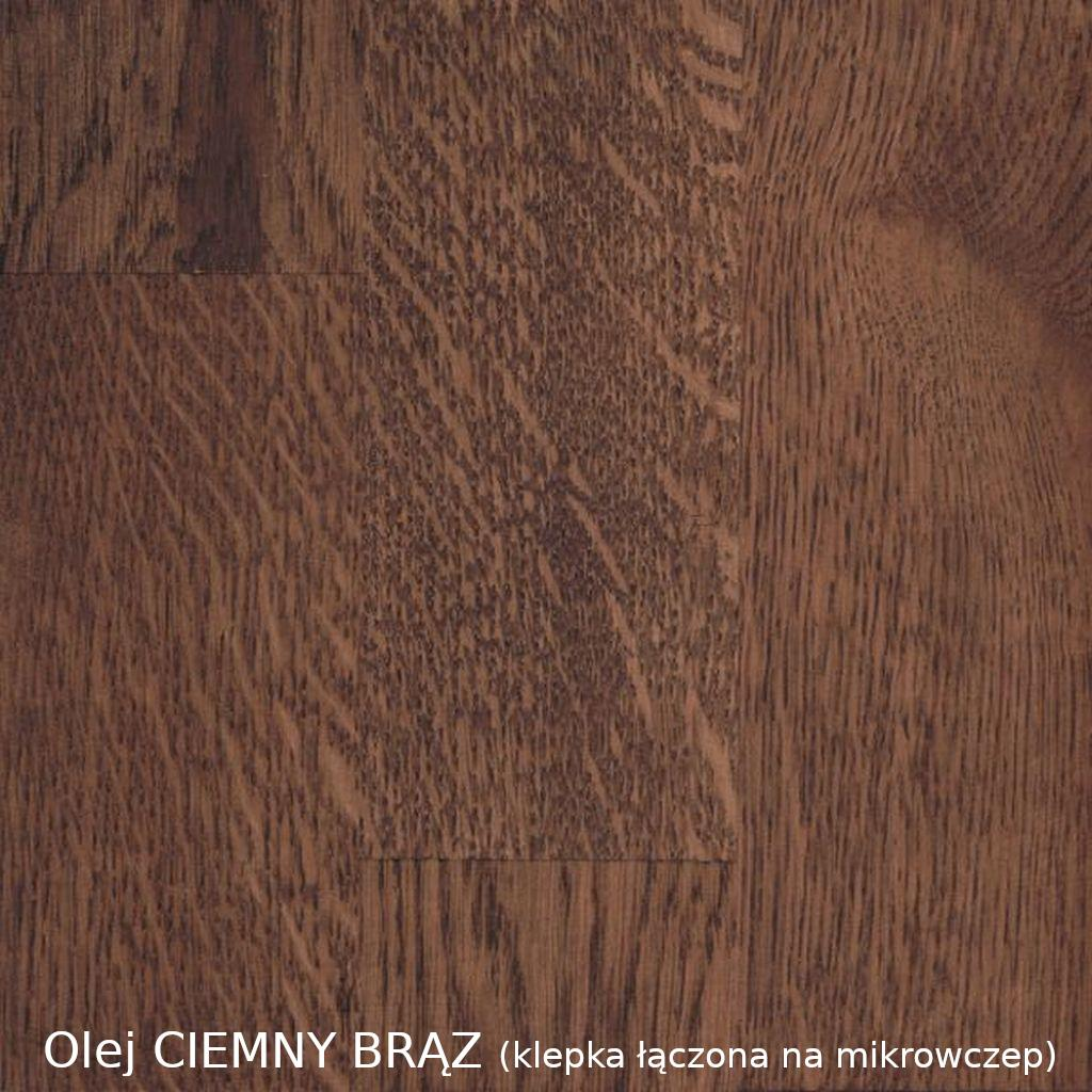 olej CIEMNY BRĄZ (mikrowczep)