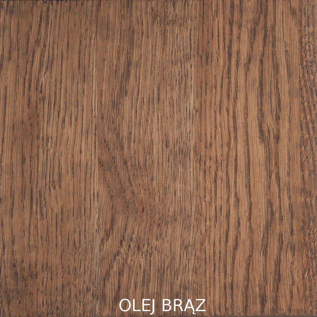 olej BRĄZ deska łączona